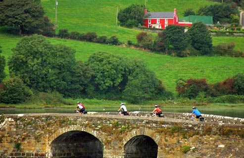 Mountain bike en Irlanda