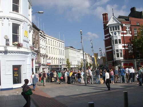 Ir de compras en Cork