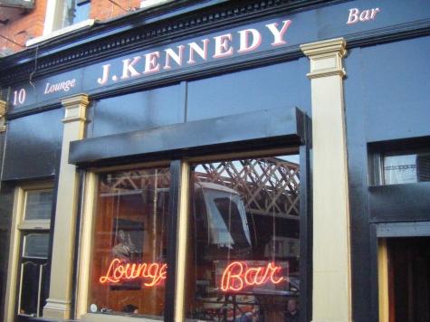 J Kennedy´s Bar otra opción en Dublin