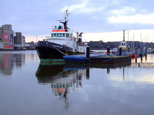El puerto de Waterford, el más importante de Irlanda