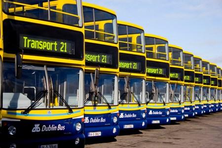Buses en Dublin