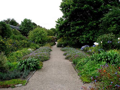 Jardines Rowallane, en Saintfield