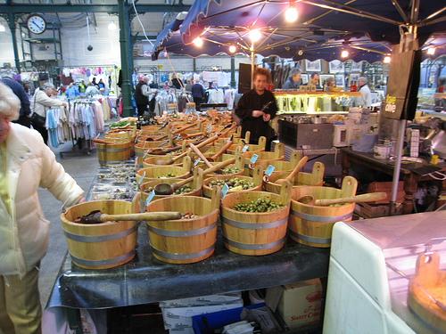 Las gangas de Saint George's Market, en Belfast