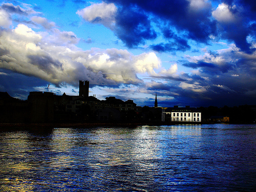 El rio Shannon en Limerick