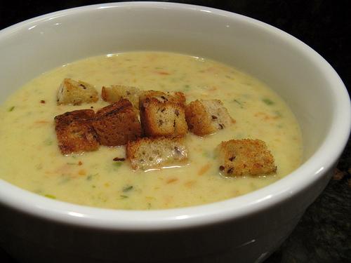 Sopa Cheddar, tradición del Día de San Patricio