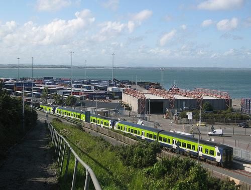 Tren en Irlanda