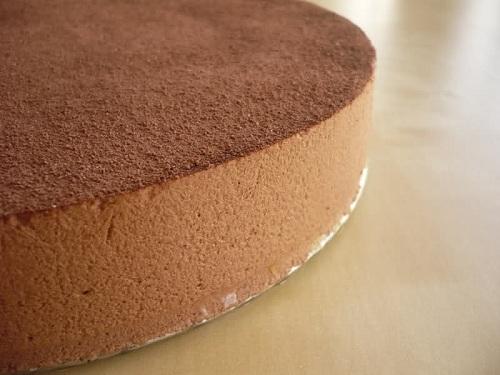 Sabrosa tarta de mousse de café irlandés